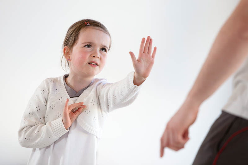 Kind Sagt Immer Nein